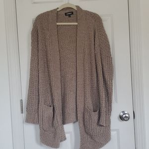 Express Oversized Stitched Sweater
